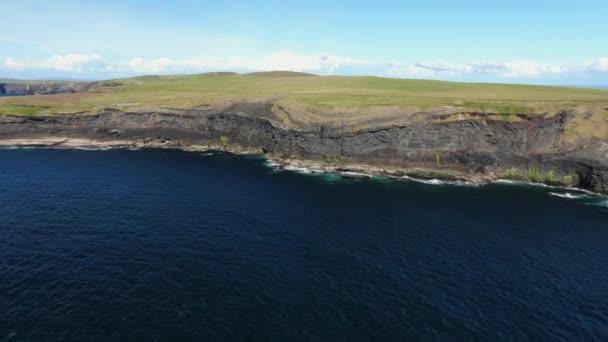 Wonderful Cliffs of Kilkee at the Irish west coast