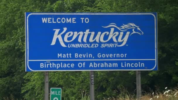 Welcome to Kentucky - FRANKFORT, USA - JUNE 18, 2019