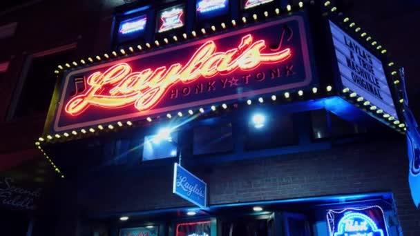 Laylas Live Music Venue at Nashville Broadway - NASHVILLE, TENNESSEE - JUNE 16, 2019
