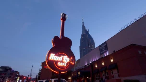 Famous Hard Rock Cafe Guitar in Nashville - NASHVILLE, TENNESSEE - JUNE 16, 2019