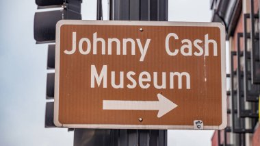 Johnny Cash Museum in Nashville - street photography