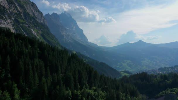 Let nad švýcarskou krajinou - Švýcarsko shora