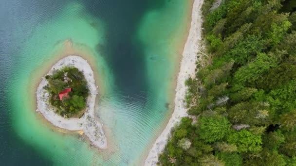 Erstaunliche Natur in Bayern im Allgäu - Luftaufnahme