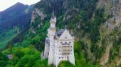 Fotografie Das berühmte Schloss Neuschwanstein in Bayern