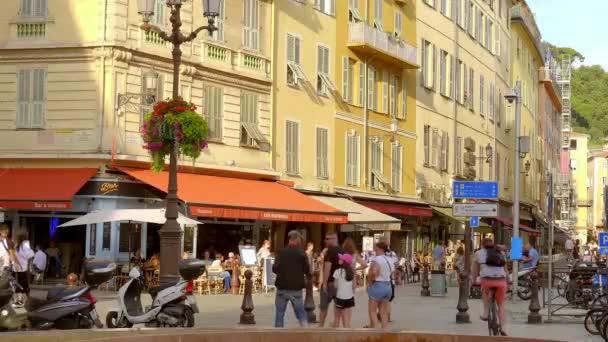 Město Nice na pobřeží Azur - CITY OF NICE, FRANCIE - 10. června 2020