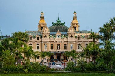 Casino of Monte Carlo in Monaco - MONTE CARLO, MONACO - JULY 11, 2020