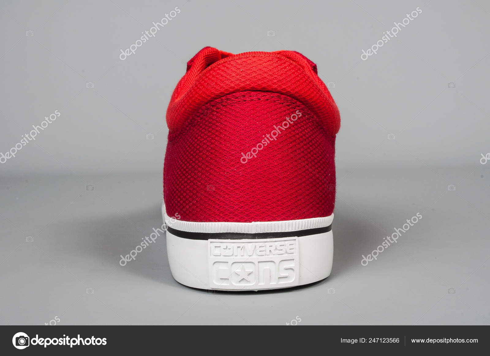 Medellin, Colombia February 24, 2019: CONVERSE Sports Shoes