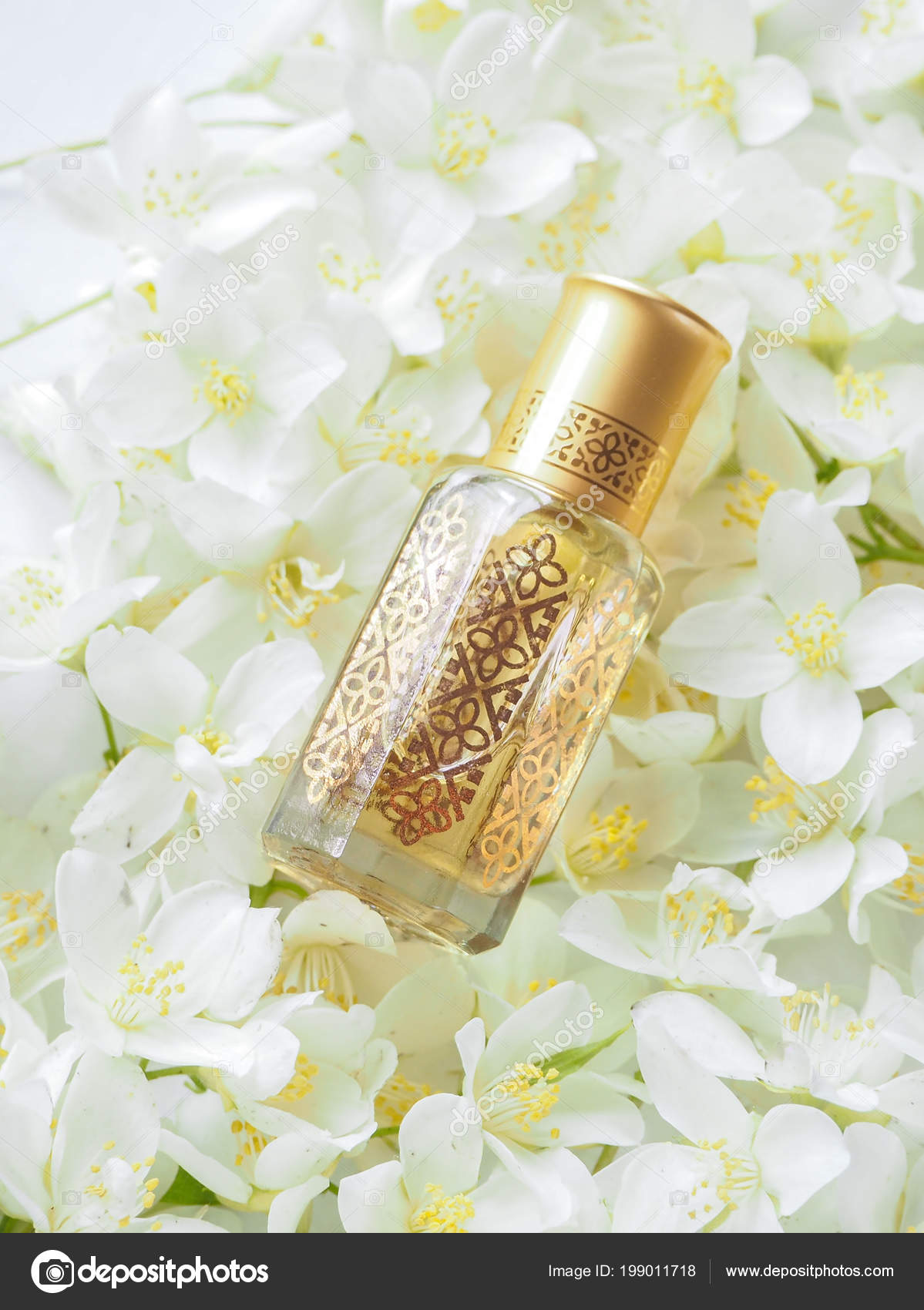 Arabian oudh attar perfume or agarwood oil fragrances with