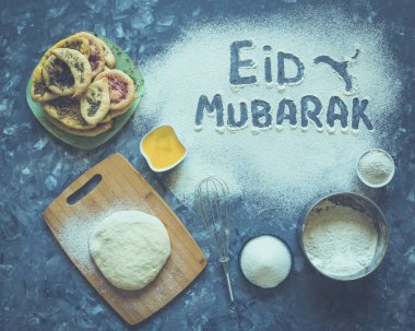 Eid Mubarak - Islamic holiday welcome phrase