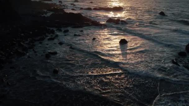 Ocean Coast naplementekor a sloumo, Kilátás felülről