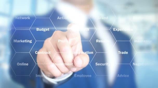 Přístup, podnikatel, rozšířená holografické rozhraní