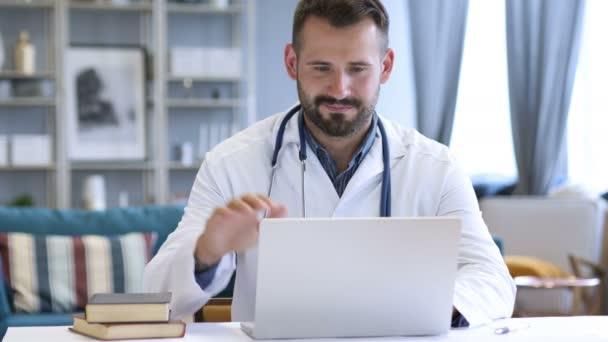 Video Chat s pacientem lékař