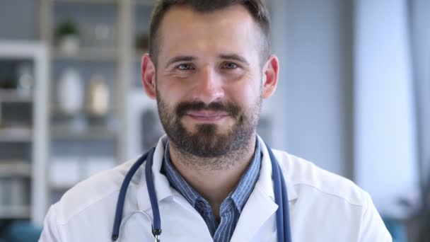 Portrait of Smiling Confident Doctor