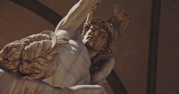 italienische antike Skulptur in italien, florenz