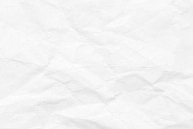 The background is white. Texture of paper with kinks and dents, old and dilapidated.
