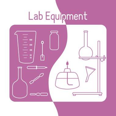 Lab equipment Science Chemistry, biology, medicine