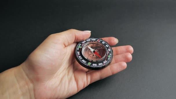 Compass, a navigational instrument 4k