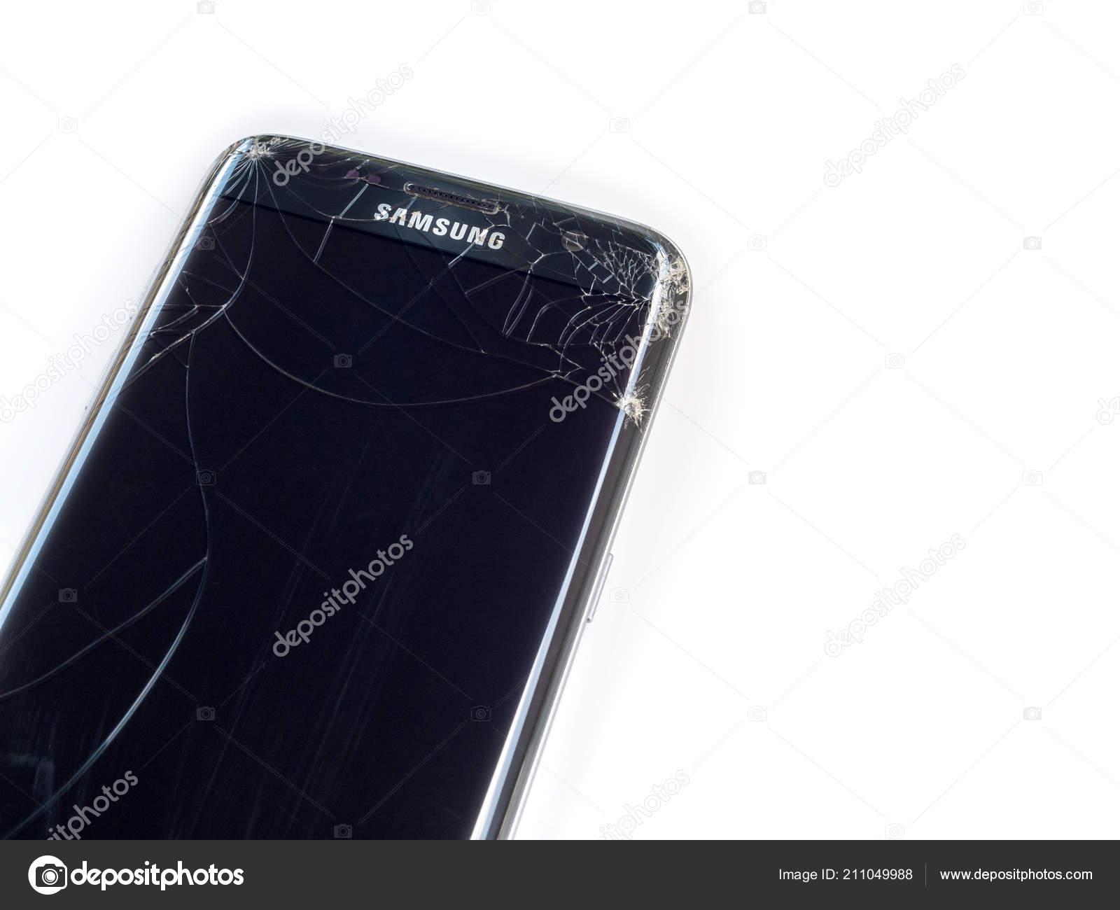 Chiangrai Thailand September 2017 Smart Phone Samsung Galaxy