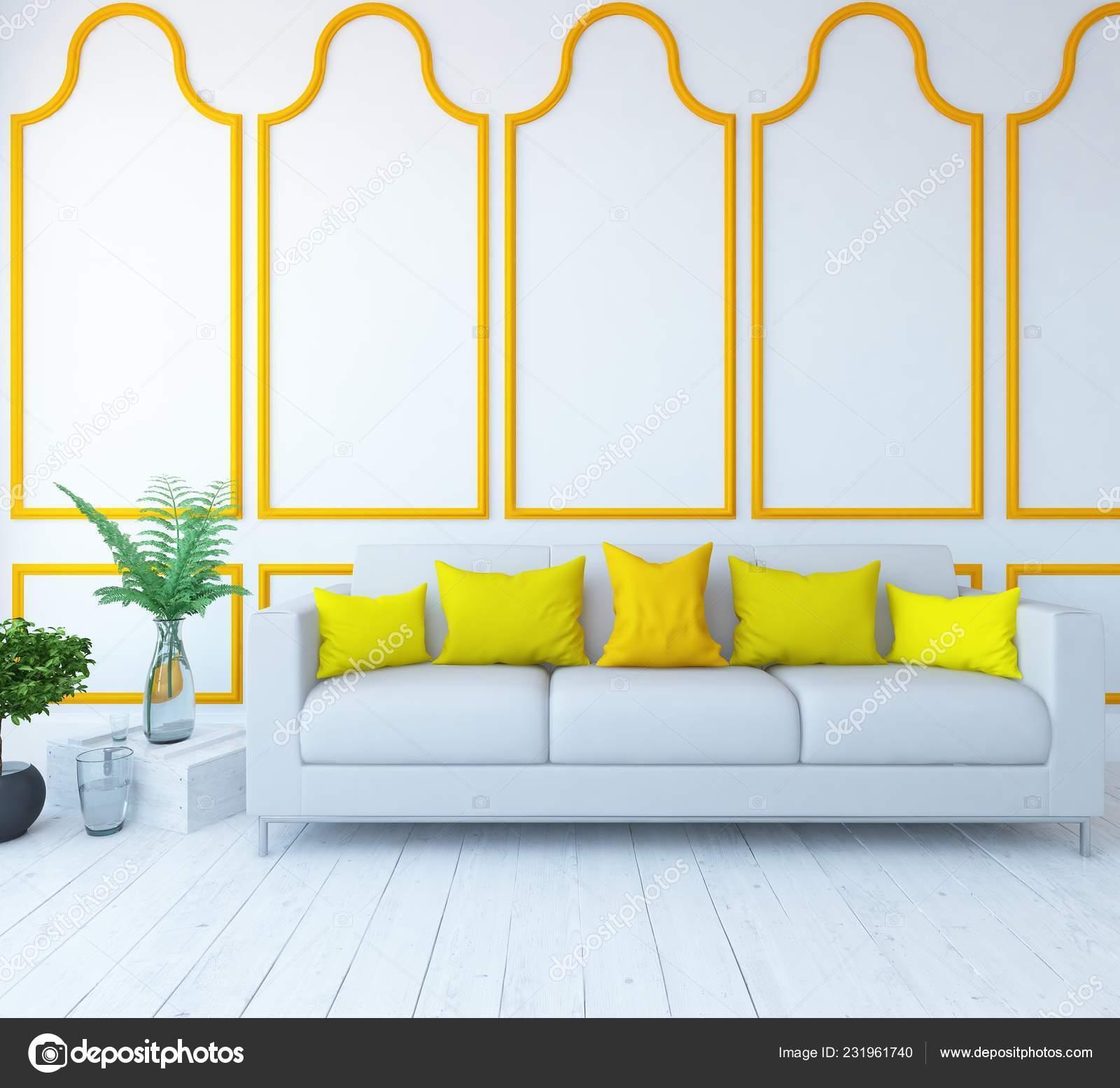 Room Interior Vases Wooden Floor