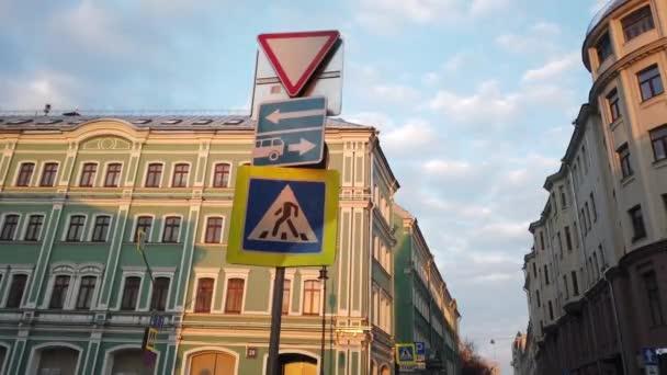 Nápis-ulice pro provoz ve městě