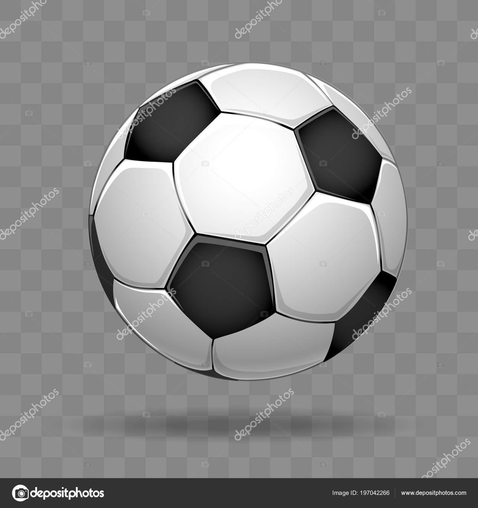 Soccer Ball Transparent Soccer Ball Isolated On Transparent Background Stock Vector C Vectortatu 197042266