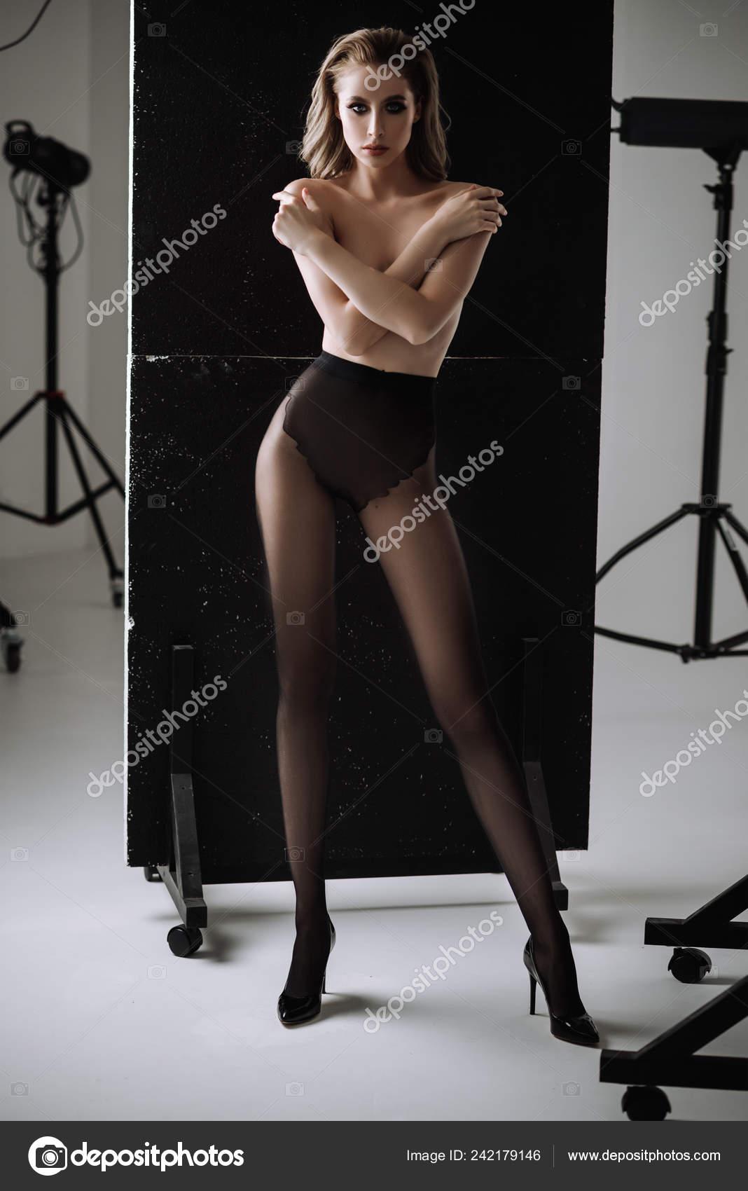collant foto nuda