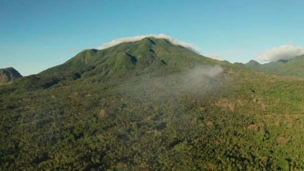 Mountains covered with rainforest, Philippines, Camiguin.