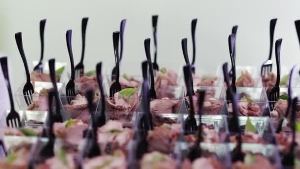 zásobování potravin krytý v luxusní restauraci