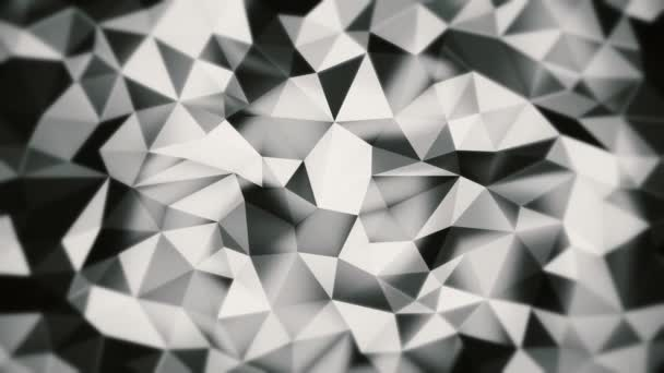 black and white abstract background of triangles with soft edges