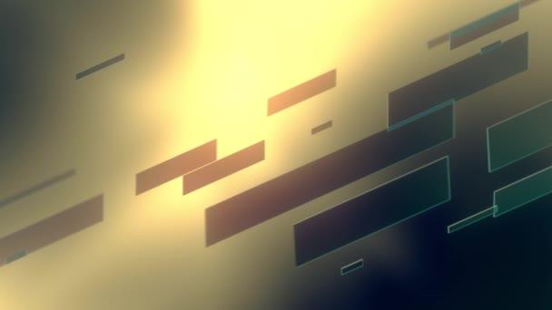 absztrakt háttér üveg színes vonalak sárga háttérrel