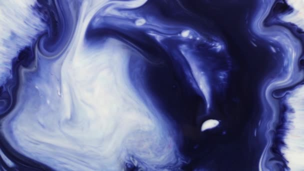 Astratto Inchiostro vernice colorato Esplodere Diffusione Diffusione Movimento Esplosione. colori tenui, composizione astratta. Texture acrilica con sfondo blu marmorizzato
