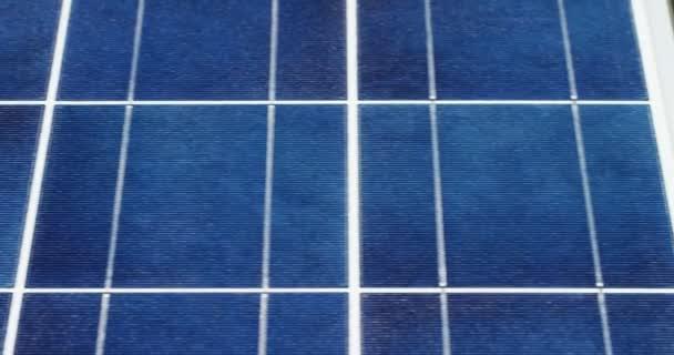 videó a kék eco solar panelek, tető sejtek Szolár állomás