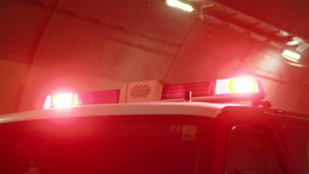 Nouzová světla hasičský vůz