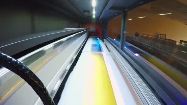 POV úder na velkoformátovou tiskárnu tisk vysokou rychlostí