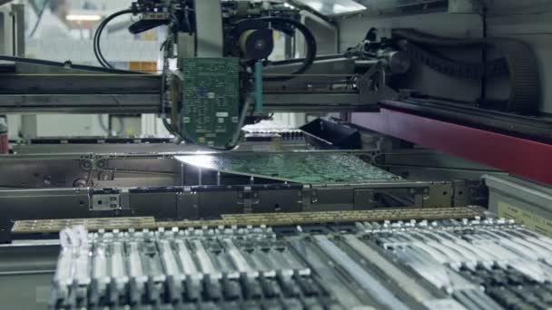 Felszíni Mount technológia Smt gép alkatrészek helyez egy áramkör