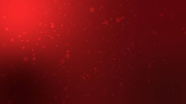abstract red color bokeh abstract background. red particle wallpaper.