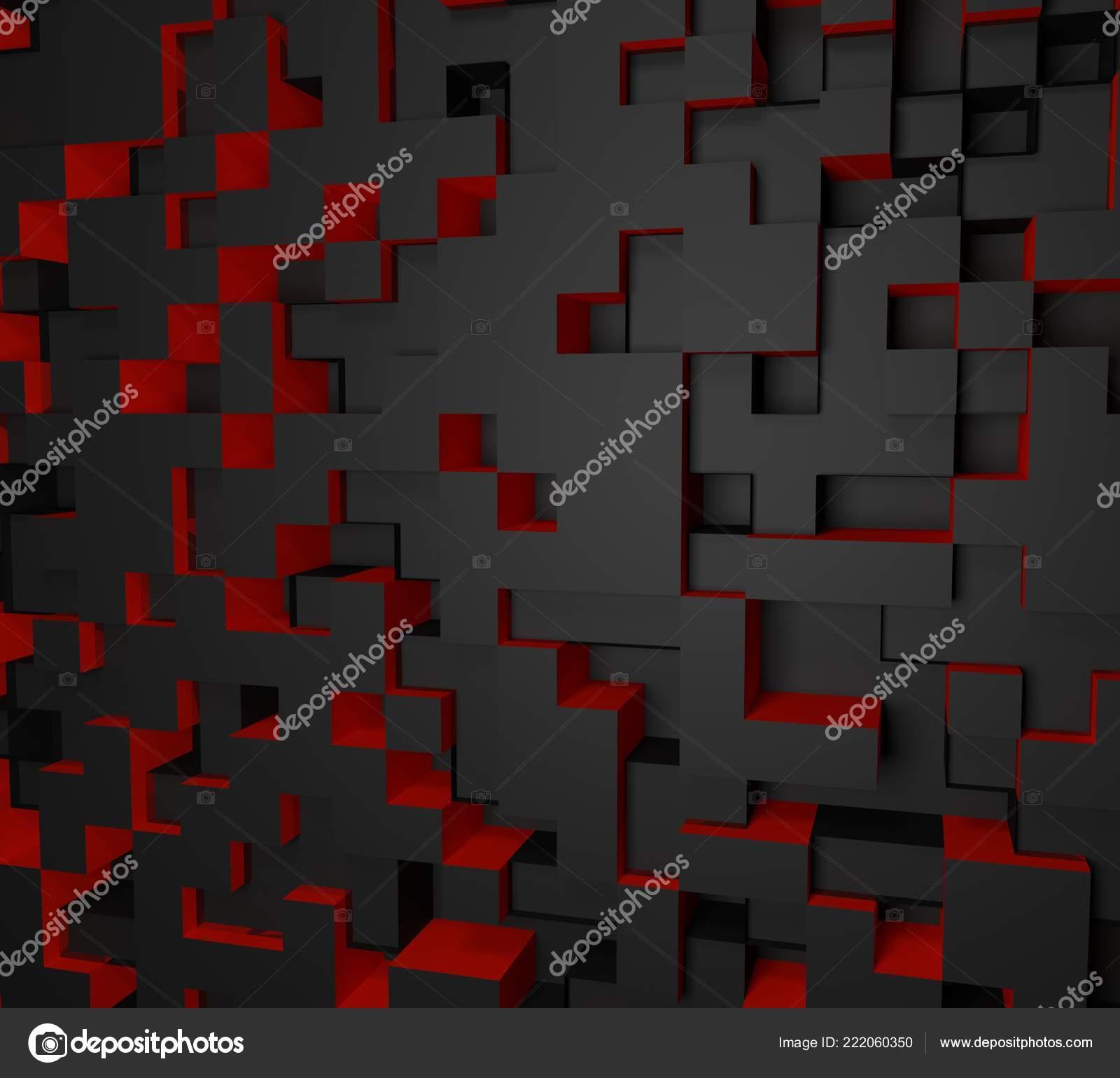 Download 500 Wallpaper 3d Red And Black  Terbaik