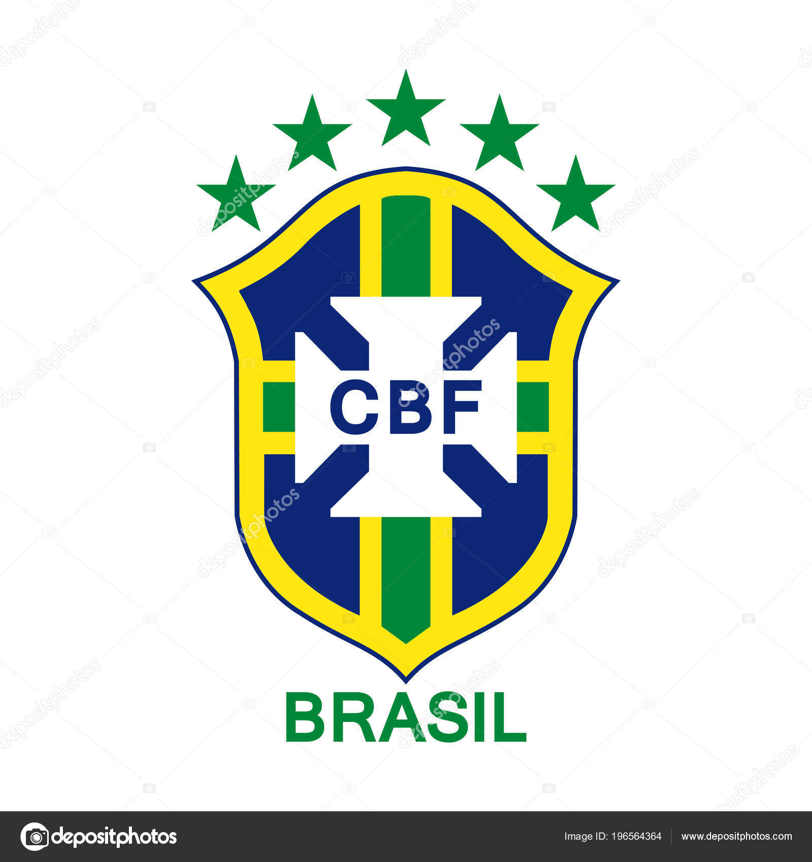 Brazil Soccer Team Logo Logo Brazilian National Football Team