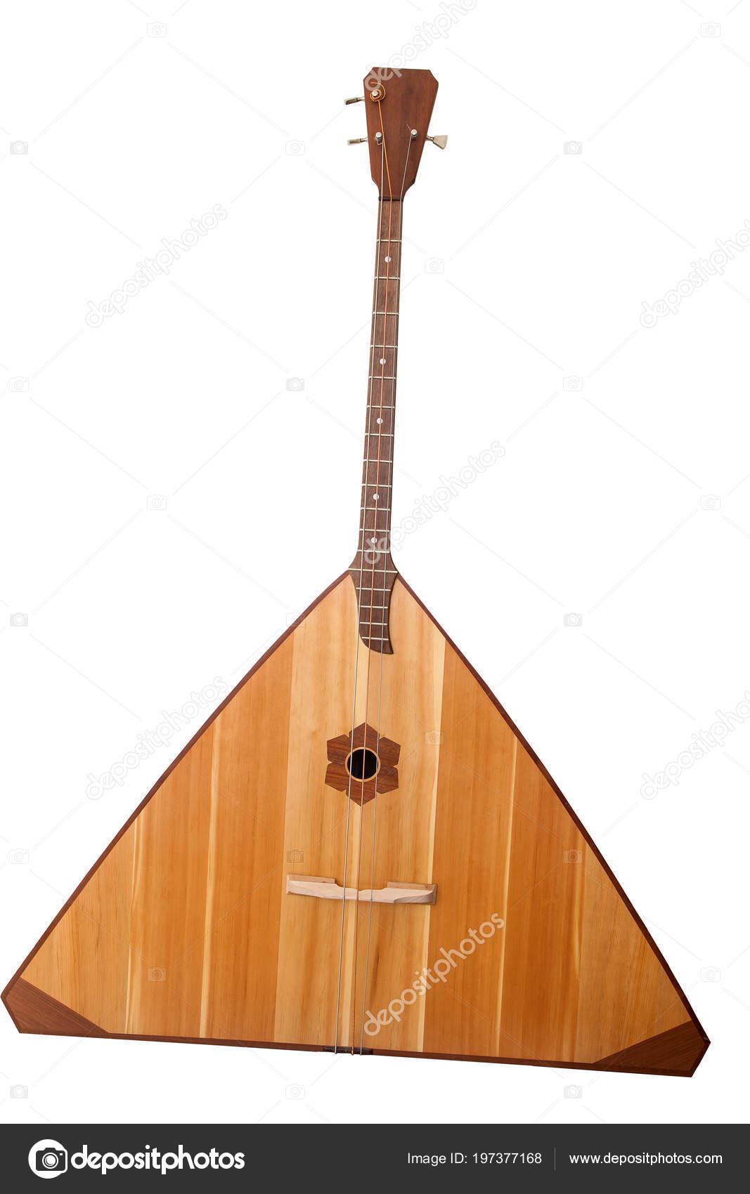 Classical Music Russian Folk Bass Instrument Balalaika