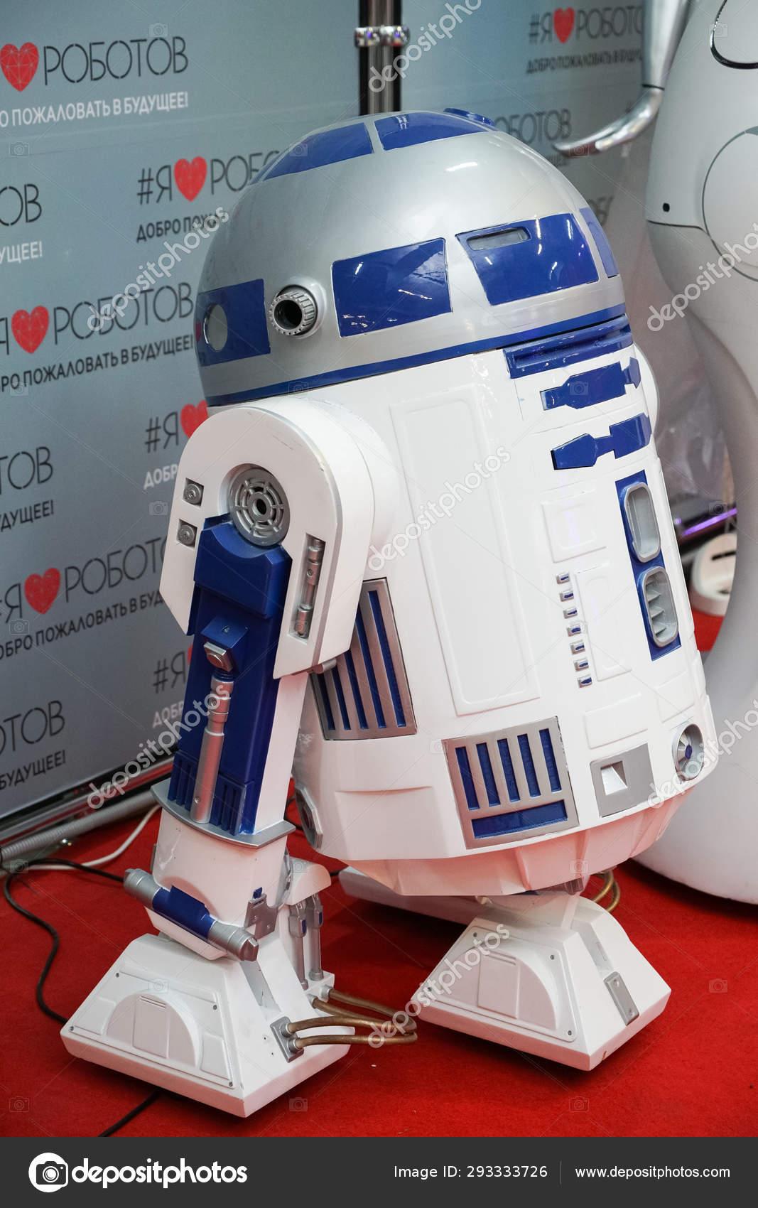 Chelyabinsk Russian Federation June 2019 Exhibition Robots