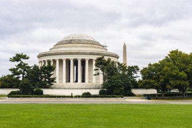 Washington DC, USA - October 12, 2017: View of the Thomas Jefferson Memorial in Washington DC.