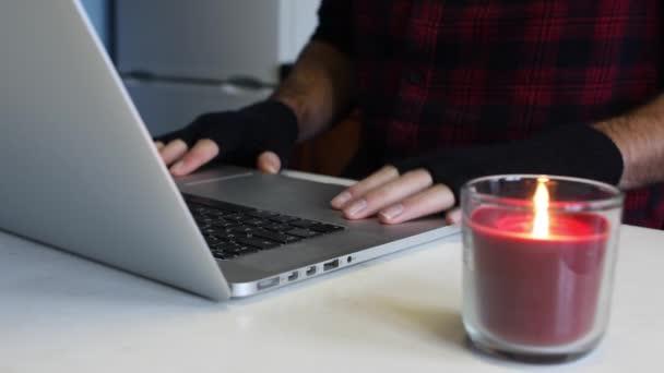 hacker gloves