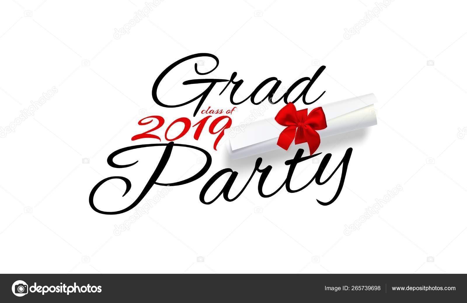 Fiesta De Grado Letras Para La Clase De Graduación De 2019