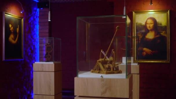 Exhibition hall dedicated to the art and science of Leonardo Da Vinci