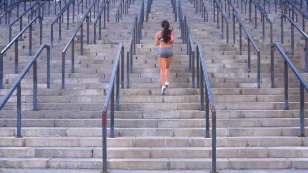 Sportovkyně aktivity cvičení cvičení venkovní koncept sportovní výcvik