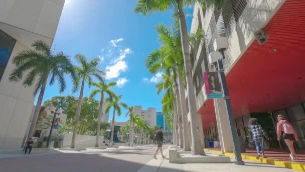 Miami, Florida - FEB 20, 2019: Miami Dade College Wolfson Campus