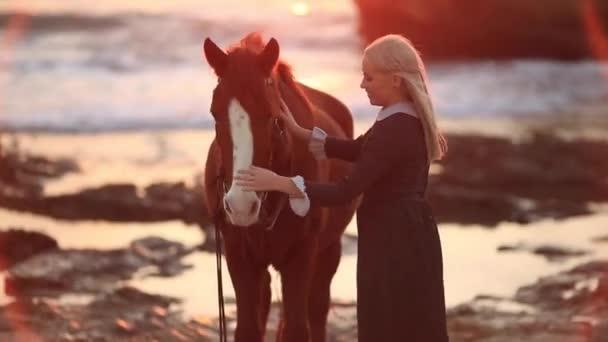 A gyaloglás a ló vintage ruha hercegnő