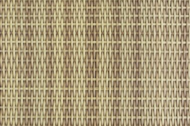Wicker beige bands. Background image, close-up,
