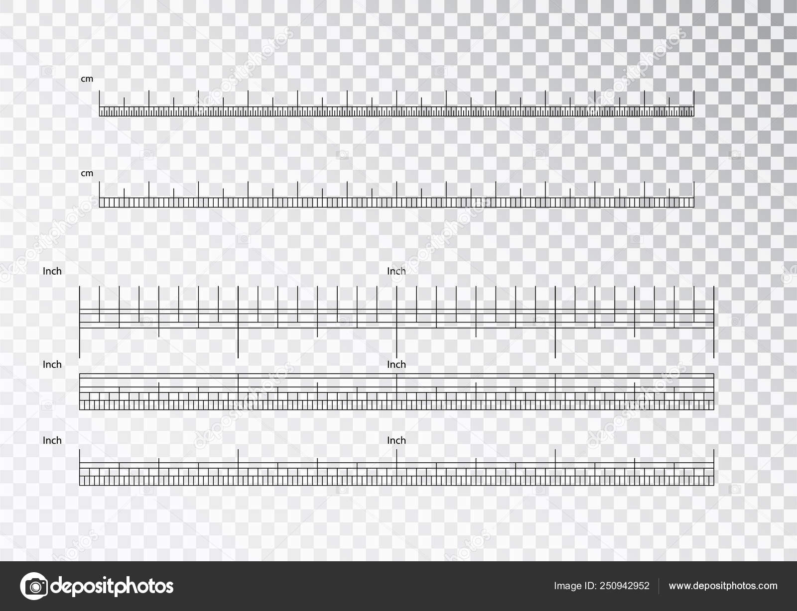 Inch And Metric Rulers Centimeters And Inches Measuring Scale Cm Metrics Indicator Precision Measurement Centimeter Icon Tools Of Measure Size Indication Ruler Tools Vector Isolated Stock Vector C Ann Zasimova 250942952