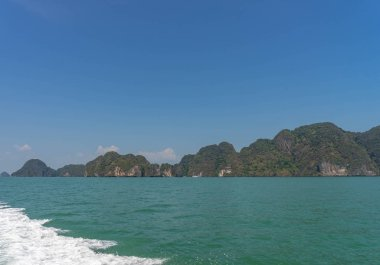 Rocks and sea in Thailand